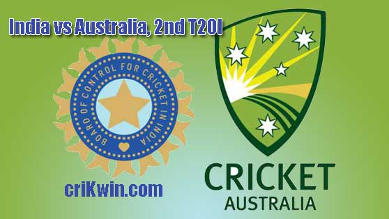 Today Match Prediction Aus vs IND 2nd T20 100% Sure Toss reports