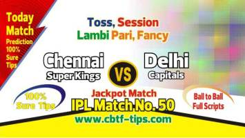 IPL T20 2019 DEL vs CSK 50th Cricket Match Prediction 100% Sure
