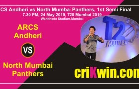 Match Prediction 100% Sure NMP vs AA MPL T20 Semi Final Mumbai League