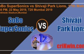 Cricket Match Prediction 100% Sure SS vs SPL MPL T20 T20 Mumbai 2019