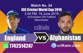Afg vs Eng 24th Match World Cup 2019 Winner Astrology Predict