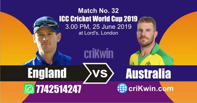 Aus vs Eng 32nd Match World Cup 2019 Winner Astrology Predict