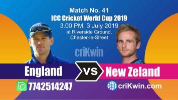 Nz vs Eng 41st Match World Cup 2019 Winner Astrology Predict