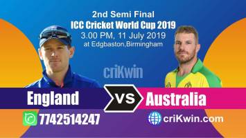 Aus vs Eng 2nd Semi Final Match World Cup 2019 Winner Astrology Predict