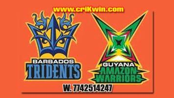 CPL 2019 Today Match Prediction Raja Babu Barbados vs Guyana 19th Match Who will win today GAW vs BT