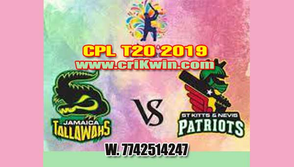 Nevis Patriots vs Jamaica 16th CPL 2019 Today Match Prediction Who will win today SKNP vs JT Dream11 Prediction All Match reports CPL T20 2019 by experts, All fixture Guess for today astrology
