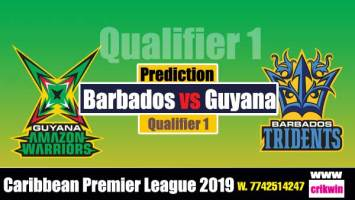 CPL 2019 Prediction 100% sure Today Who will win Qualifier 1 Match BT vs GAW Cricket True Astrolgy Winner Tips Toss Reports Guyana vs Barbados