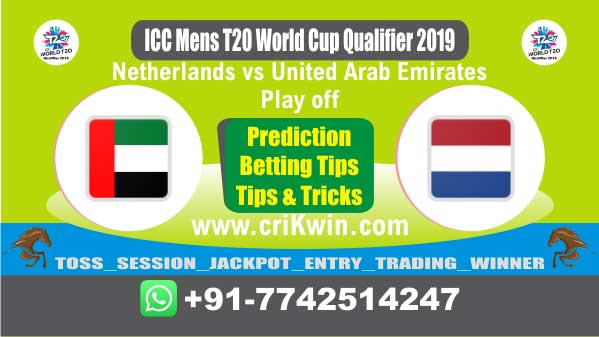 WC T20 Qualifier 100% Sure Today Match Prediction winning chance of UAE vs NED Play off Cricket True Astrology Winner Toss Tips Who will win today