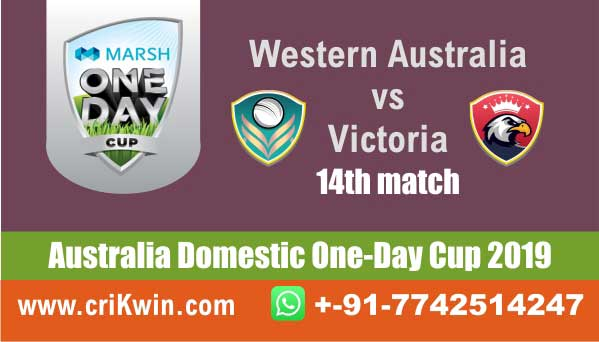 Marsh One Day Cup 100% Sure Today Match Prediction winning chance of WAU vs VCT 15th Cricket True Astrology Winner Toss Tips Who will win today