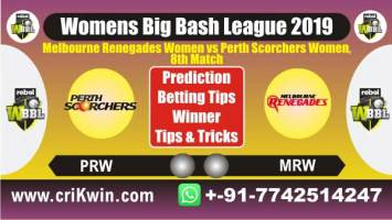 WBBL 2019 100% Sure Today Match Prediction PRSW vs MLRW 8th Match Cricket True Astrology Winner Tips Toss Reports MRW vs PSW Who will win today