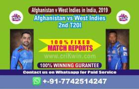 2nd T20 Today Match Prediction WI vs AFGH Match Who Will Win