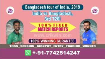3rd T20 Today Match Prediction Ban vs Ind Match Who Will Win
