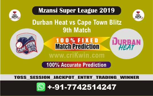 MSL T20 2019 Today Match Prediction CTB vs DUR 9th Who Will Win