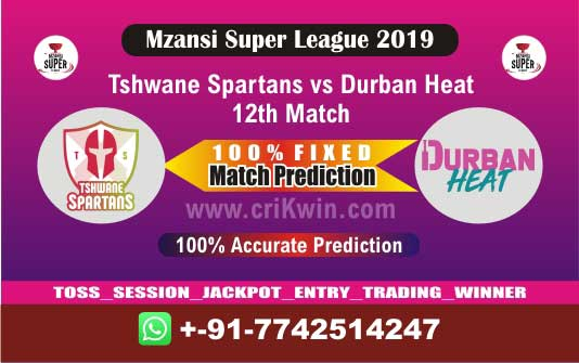 MSL T20 2019 Today Match Prediction DUR vs TST 12th Who Will Win