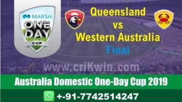 Marsh One Day Cup Prediction WAU vs QUN Final Match Who Will Win