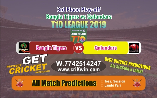 QAL vs BAT 3rd Place Play-off T10 Today Match Prediction Who Will Win