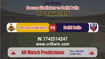 T10 2019 Today Match Prediction Delhi vs Deccan 2nd Match Will Win