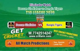 T10 2019 Today Match Prediction BAT vs DEG Eliminator Who Will Win