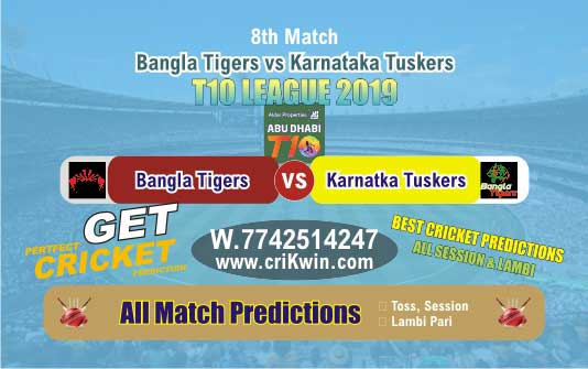 T10 2019 Today Match Prediction KAT vs BAT 8th Match Who Will Win