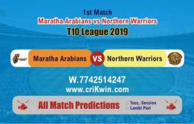 T10 2019 Today Match Prediction NOR vs MAR 1st Match Who Will Win