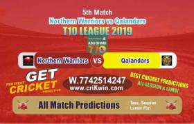 T10 2019 Today Match Prediction QAL vs NOR 6th Match Who Will Win