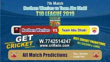 T10 2019 Today Match Prediction TAB vs NOR 7th Match Who Will Win