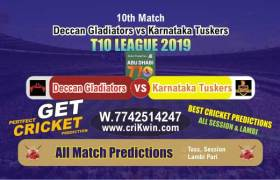 T10 League 2019 Today Match Prediction KAT vs DEG 10th Who Will Win