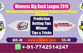 WBBL 2019 Today Match Prediction SS-W vs MR-W 17th Match Will Win
