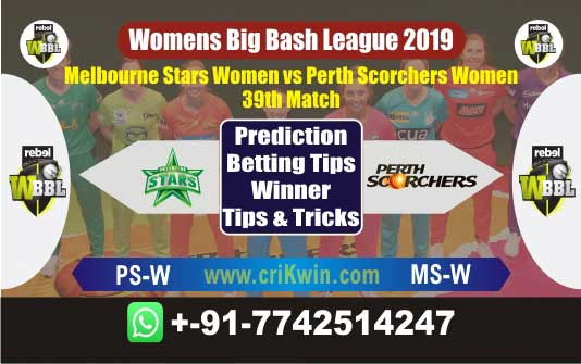 WBBL 2019 Today Match Prediction MS-W vs PS-W 39th Who Will Win