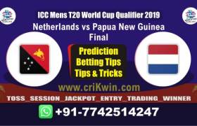 WC T20 Qualifier Today Match Prediction PNG vs NED Final Match Who Will Win