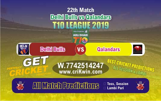 Who Will Win T10 2019 Today Match Prediction QAL vs DEB 22nd Match