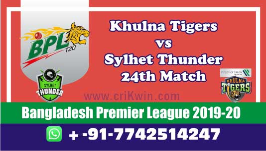 BPL 2020 Today Match Prediction ST vs KT 24th 100% Sure Win