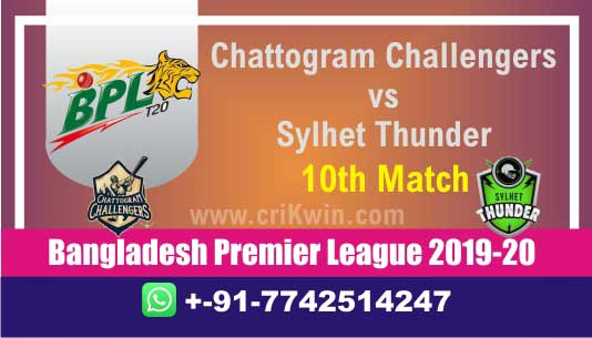 BPL T20 Today Match Prediction SYL vs CCH 10th 100% Sure Win