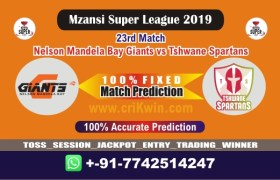 MSL 2019 Today Match Prediction TST vs NMG 23rd Who Will Win