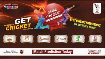 Qatar T10 League Match Prediction PEA vs HEA 15th 100% Sure Win