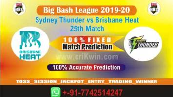 BBL TwentyT20 Today Match Prediction BRH vs SYT 25th 100% Sure Win