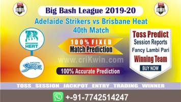 BRH vs ADS cricket win tips bbl t20 40th match