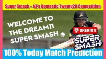 Super Smash Today Match Prediction CD vs CTB 24th 100% Sure Win