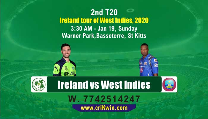 WI vs IRE cricket win tips