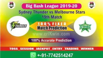BBL T20 2020 Today Match Prediction SYT vs MLS 19th 100% Sure Win