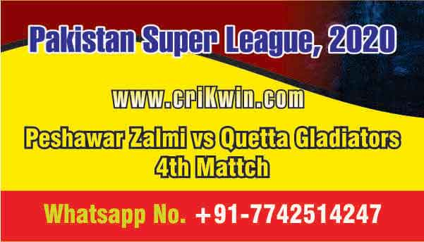 Today Match Prediction QUE vs PES PSL 4th T20 100% Sure Win Tips