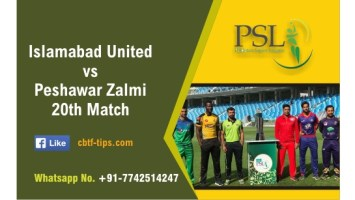 100% Sure Today Match Prediction PSZ vs ISU 20th PSL T20 Win Tips