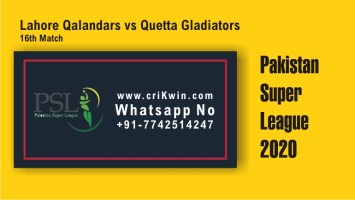100% Sure Today Match Prediction QUE vs LAH 16th PSL T20 Win Tips