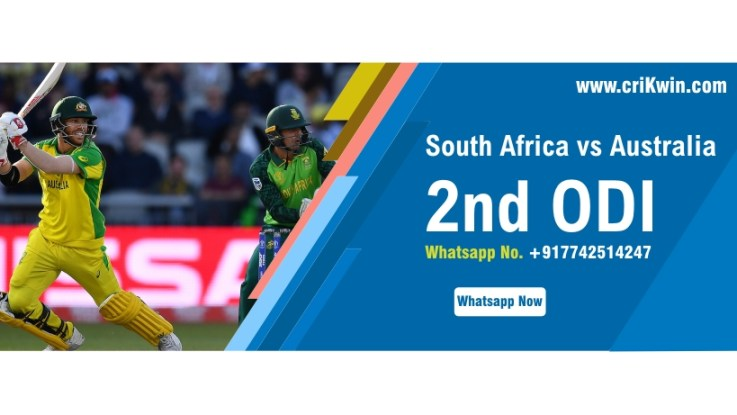 100% Sure Today Match Prediction SA vs Aus 2nd International ODI Win