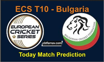 ECS T10 Bulgaria Match Prediction Latest Sure shot Updates All Cricket match prediction 100% sure, Who will win today cricket prediction sites Get True Astrolgy Winner Reports
