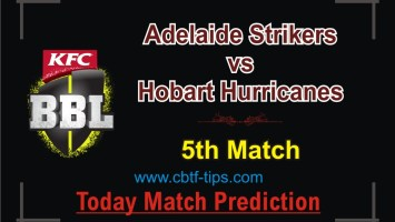 100% Sure Today Match Prediction HBH vs ADS BBL T20 Win Tips