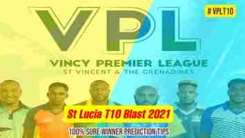 Vincy Premier League T10 2021 LSH vs DVE 15 May 2021, 11:00 PM IST Dream11 Team Prediction, Dream11 team Live prediction VPL T10 Fantasy Cricket Tips 100% sure today match prediction ball by ball who will win today match