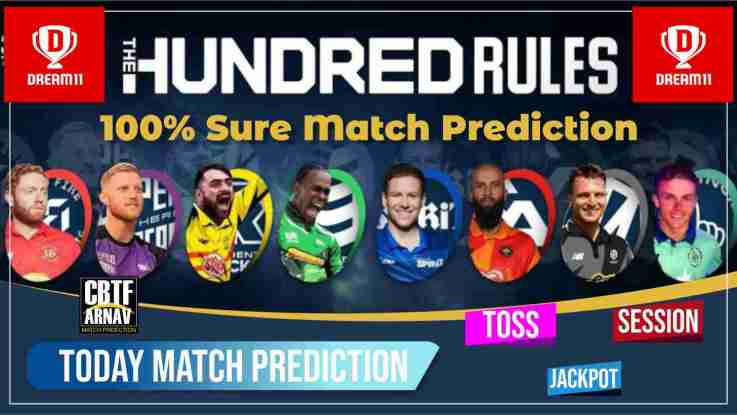 The Hundred Mens Competition 100 Balls, Match 24th 100 Balls: Manchester vs London Today Match Prediction Ball By Ball