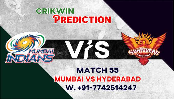 SRH vs MI 55th T20 Cricket Match Prediction 100% Sure Who will win today's cricket match astrology by Rajababu Cricket Match Prediction 100% sure and Accurate who will win