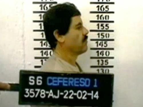Mexicaanse minister tweet foto van Chapo in gevangenis om te bewijzen dat hij niet ontsnapt is